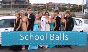 school ball limo hire